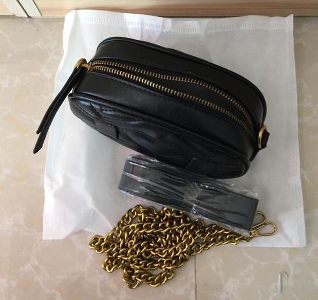 2020 de la moda de las mujeres del hombro del cuerpo cruzado bolsa de la PU Material de la cintura AUTN Bolsas Bumbag cuero Bolsas Cruz del paquete de Fanny del vago de la cintura las mujeres # 1730