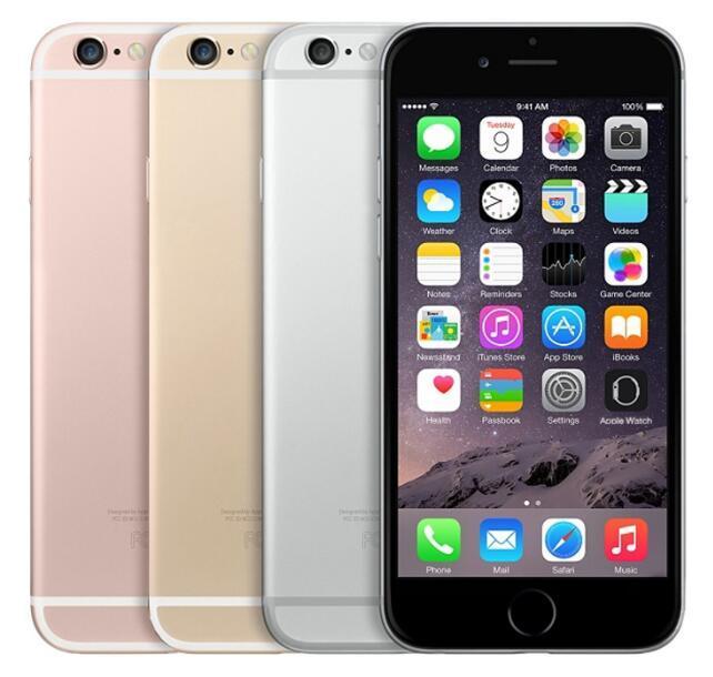 التفاح الأصلي اي فون 6S الهاتف الخليوي مقفلة 16GB / 64GB / 128GB ثنائي النواة IOS 11 4.7 بوصة 12MP 4G LTE