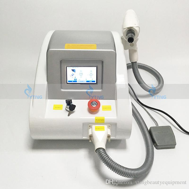Yeni 2000mj Q Anahtarı ND YAG Lazer Dövme Temizleme Makinesi Pigmentler Yaş Nokta Temizleme Cilt Rejuantion Cihazı 530/1064 / 1320nm
