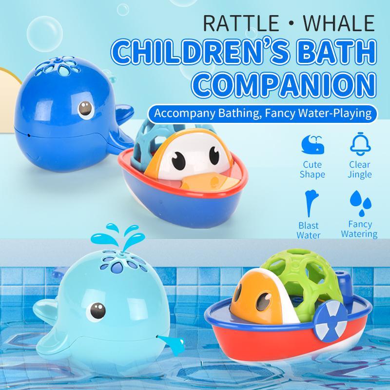 TW2004065 jouets pour le bain poisson natation Hochet 12M + la poignée de main cadeau eau-PLAYING fixé pour baignoire baignoire bébé
