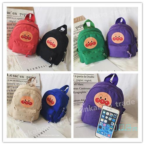 Bambini Canvas Zaini bambini stampato modo del bambino di borse sacchetti di spalla asili ragazze dei ragazzi Anti-perso zaino borsa Libro packLY423