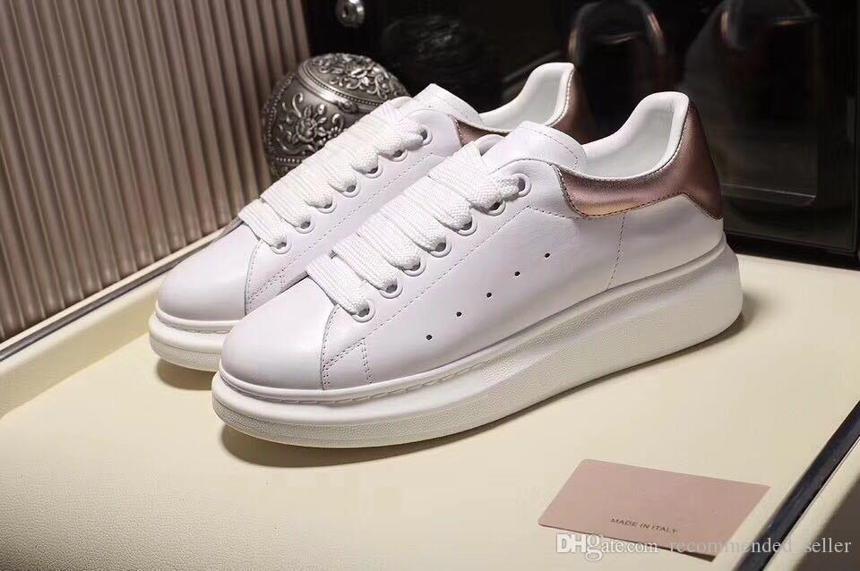 جميل الأسود أحذية عارضة ربط الحذاء حتى مصمم الراحة جميلة بنت إمرأة حذاء جلد عارضة أحذية MenSneakers الاستقرار الدائم للغاية