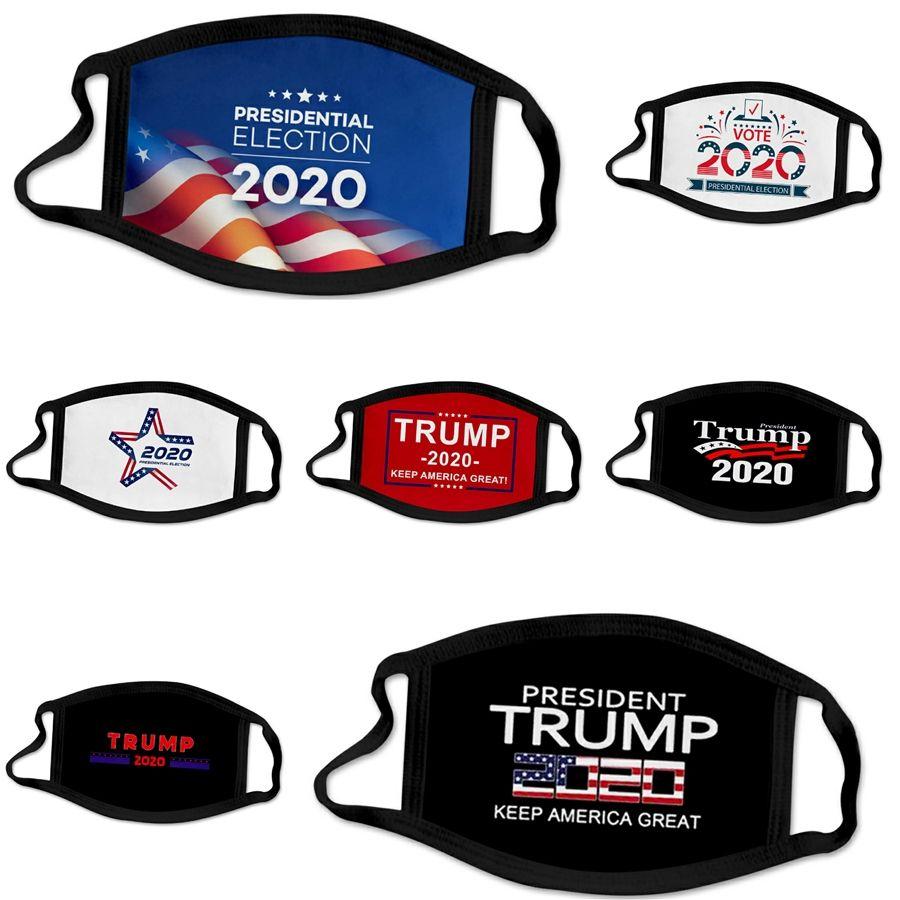 Mascarillas al por mayor de 3 capas protectoras de polvo facial Maske er protectora Ski Set del polvo anti Diseñador Trump Máscara facial adultos FACEM # 641