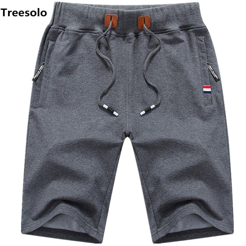 Cotton Shorts Men Summer Beach Short Male Casual Shorts Mens Solid Boardshorts High Quality Elastic Fashion Short Men S-5xl 1012 SH190701