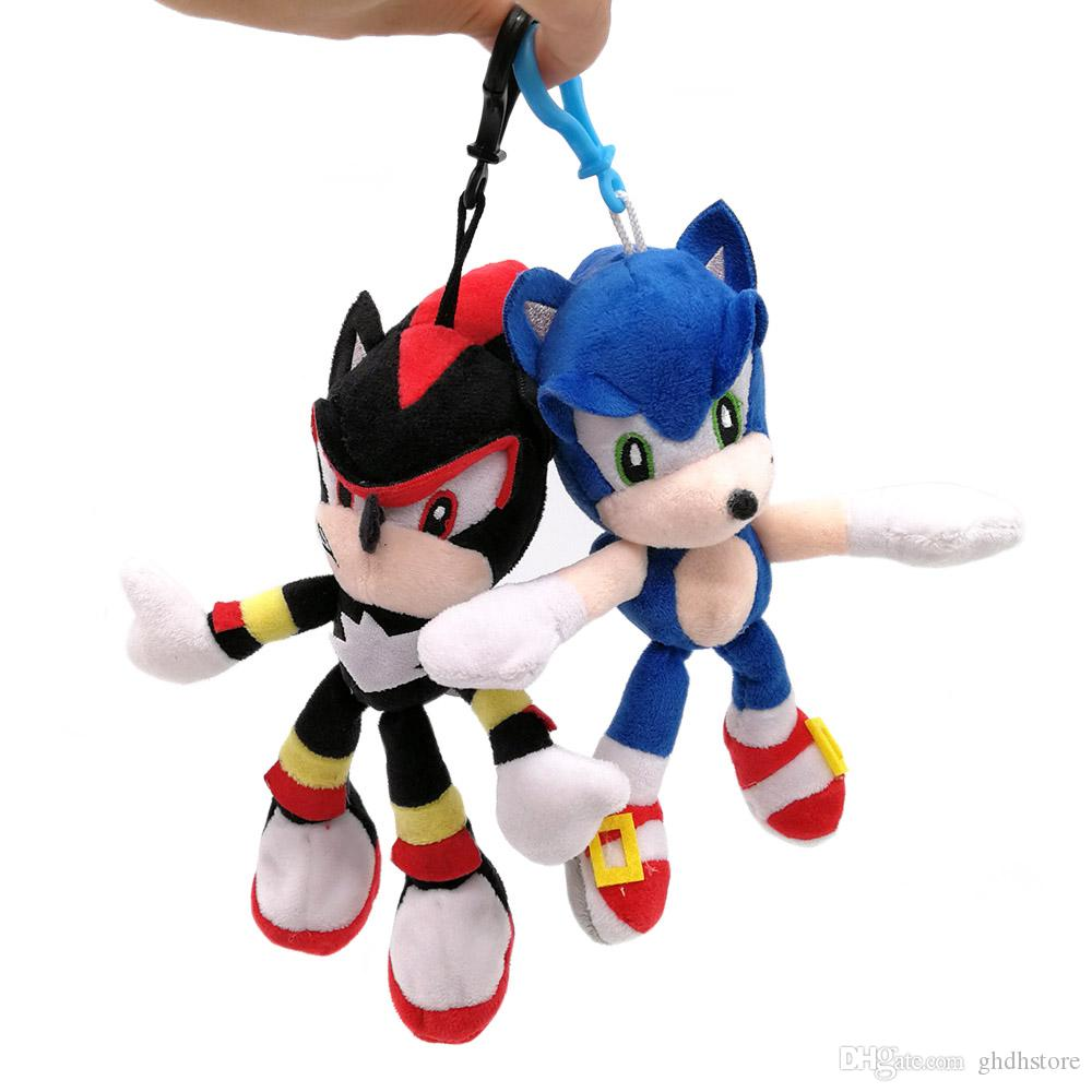 2020 Top New 2 Styles 6 5 16cm The Hedgehog Shadow Plush Doll Anime Collectible Stuffed Dolls Keychains Pendants Best Gifts Soft Toys From Ghdhstore 2 71 Dhgate Com