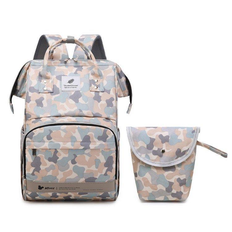 2020 نمط جديد 2 قطعة أزياء مزدوج الكتف الترا خفيفة الوزن اليابانية Materinity حفاضات حقيبة الظهر حقيبة الحفاظة للطفل