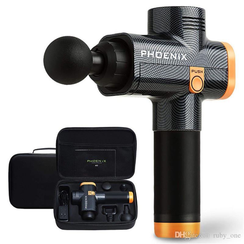 Phoenix A2 Muskel-Massage Gun Deep Tissue Massagetherapie Gun Fitnesstraining Muskelschmerzen Relief Body Shaping RRA2927