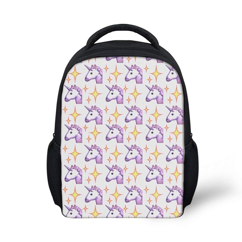 2019 New Cute Cartoon Unicorn Horse Printing Backpack Bags For Boys Girls Causal Children Backpacks youngster School Book Bag