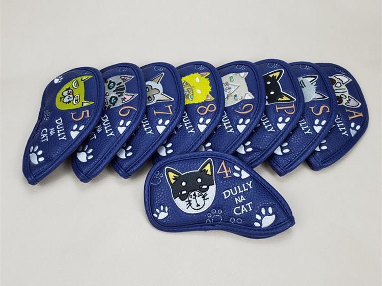 Copertine nuovissimo campo da Testa per Irons 4-9PAS fumetto ottusamente NA CAT copertura della testa 9PCS / lot SME
