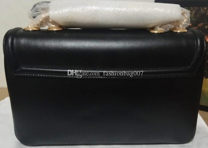 5A a melhor qualidade 537.241 27 centímetros Rajas Horsebit Médio ombro cadeia saco de mulheres para com o saco de poeira Box DHL frete grátis
