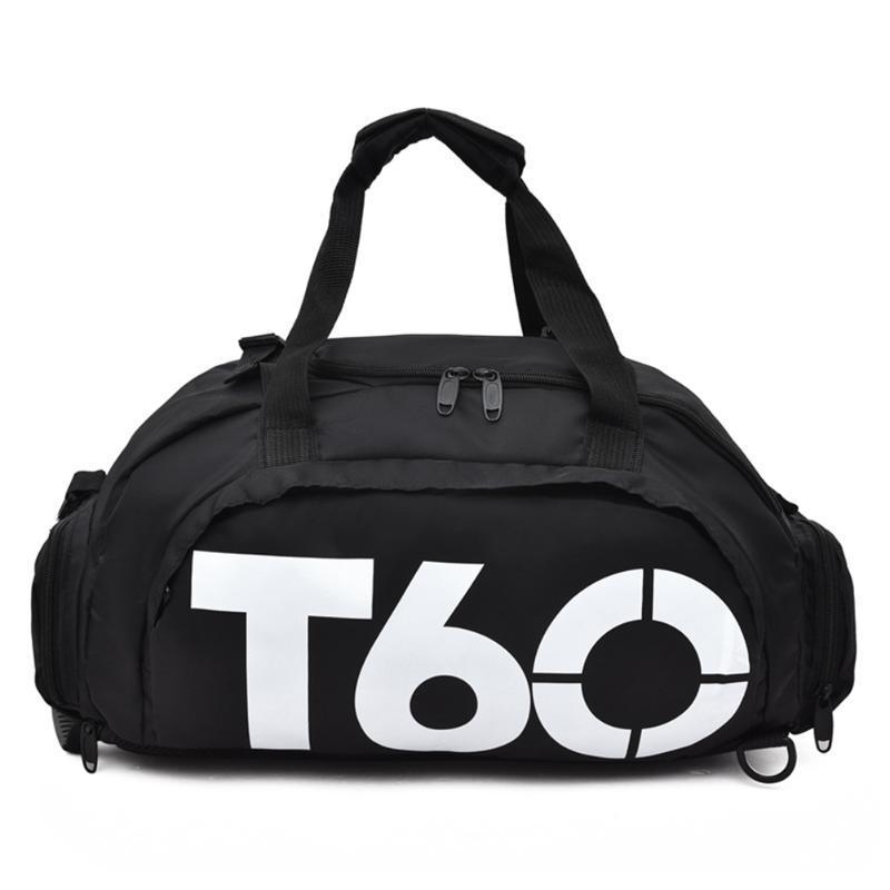 Мужчины Женщины Обучение Камера плеча Открытый Gym Портативный сумка водонепроницаемый нейлон спортивная сумка Йога Фитнес Обувь отсек