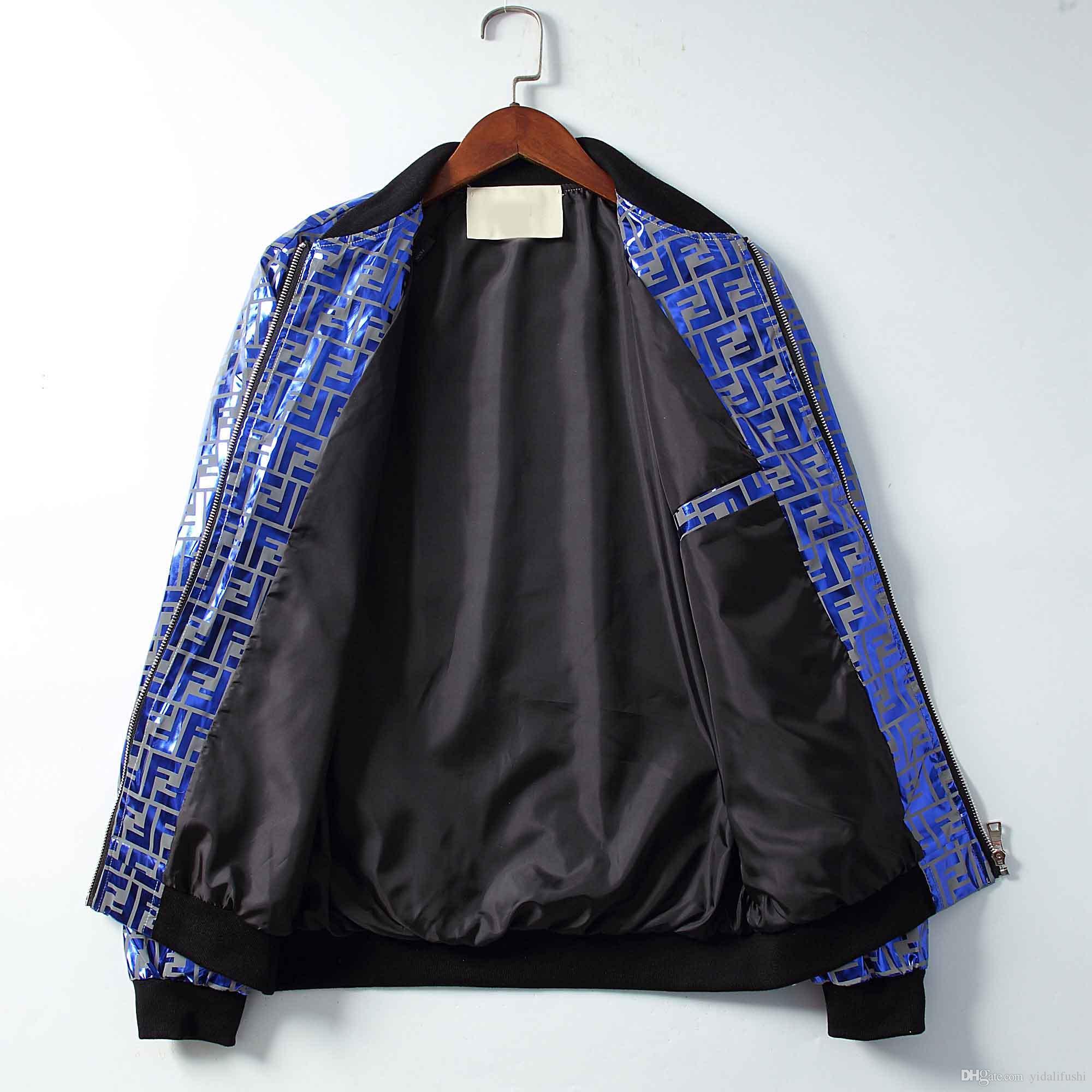 2019-2020 queda Jacket Top Luxo camisola com capuz manga comprida Esportes de outono dos homens com capuz e zíper roupas masculinas Top Fashion