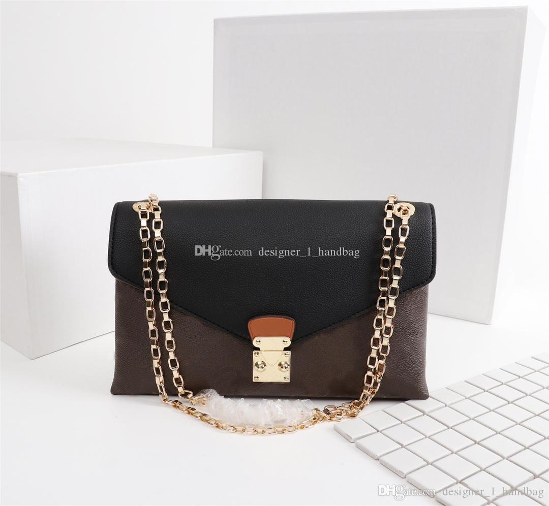الرجعية سيدة رسالة الطباعة تصميم العناصر رسول حقيبة الأزياء حقيبة يد سلسلة معدنية حقيبة مناسبة لمختلف الكفالات