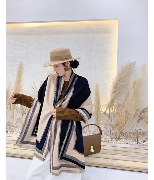 Estilo clássico de alta qualidade de cashmere de inverno impresso lenço grande-treliça, lã de alta qualidade Broadcloth 180 * 65cm
