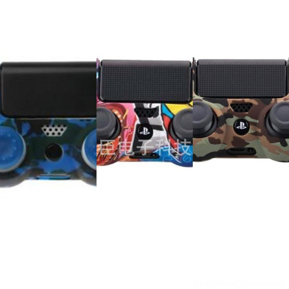 rjHw5 Camouflage Camo Striped Multicolor CaseSHIPPING Grips Grip Stick Thumb Joystick Cap Cover for Xbox One 360 PS4 PS3 Thumbstick Silicone
