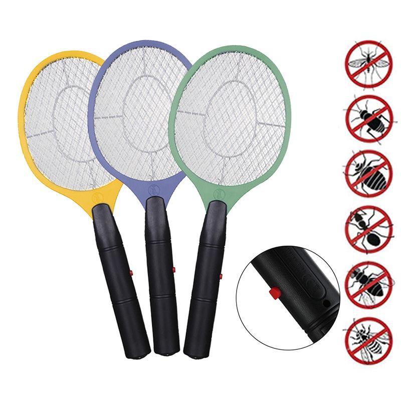 Accueil électrique Fly Mosquito Bug Zapper tapette Mosquito sécurité Tueur sans fil Mesh Anti Mosquito Bug Zapper Utilisez la batterie AA