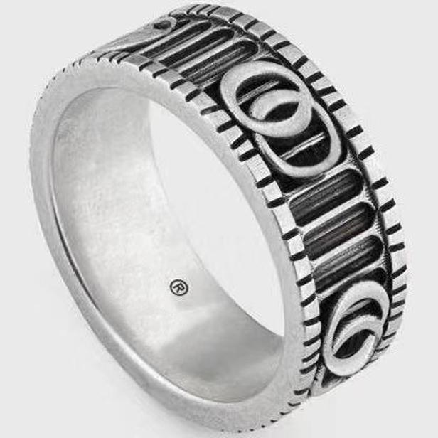 남성과 여성 참여 웨딩 보석 애호가 선물 스탬프 및 원래 상자 925 스털링 실버 반지 bague anillos 모이 사 나이트 되세요