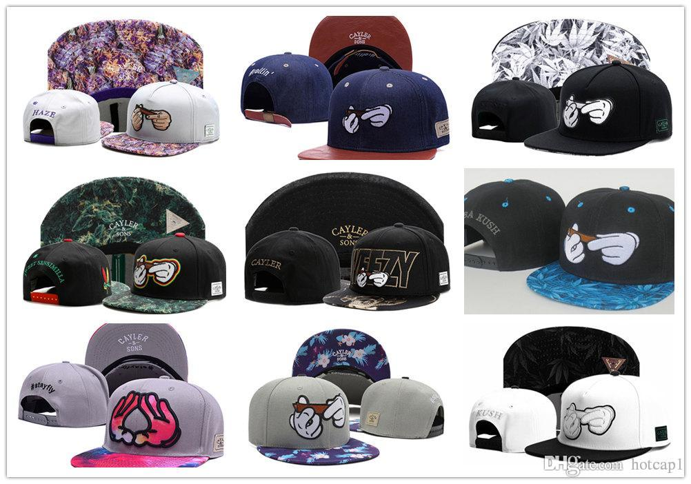 9b1f04b8 Top Selling Beautiful Flower New Design Snapback Hats 5 Panel Strap Back  Cayler & Sons Snapbacks Snap Back Hip Hop Adjustable Men Caps TY Flexfit  Caps ...