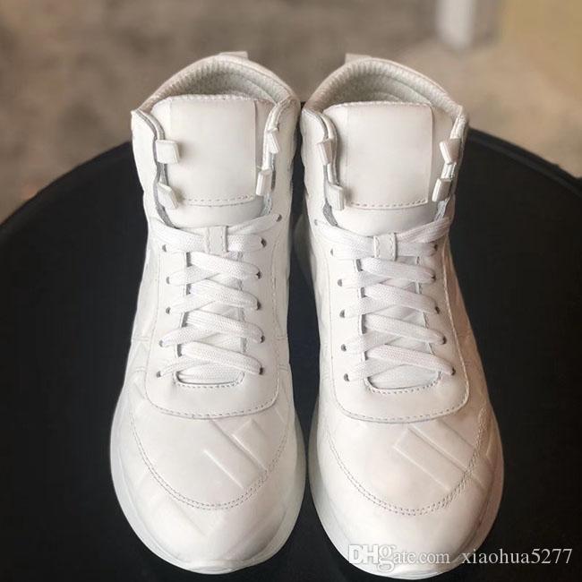 femmes chaussures de sport grande taille 35-42 2020 High Sneakers qualité pour Respirant épais Chaussures de course de fond Hommes Sports de plein air Chaussures de sport