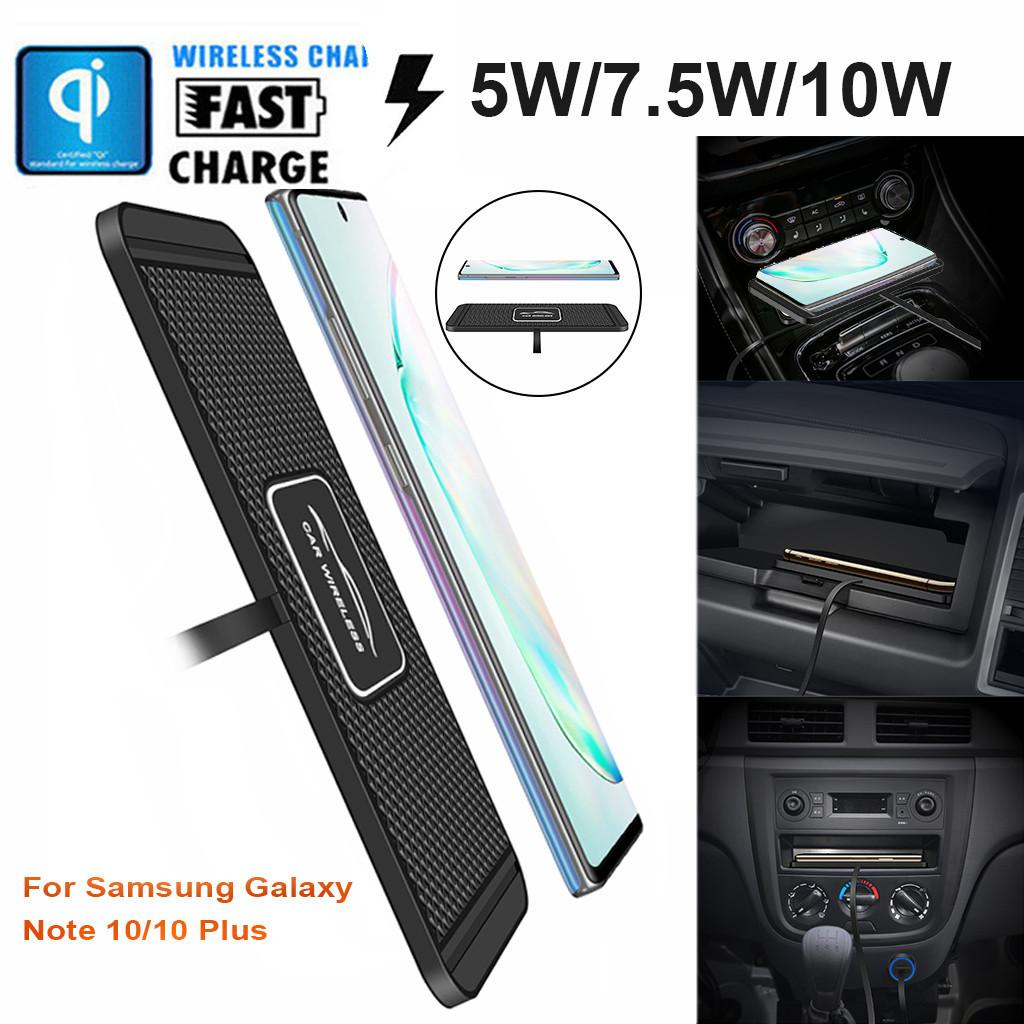 CARPRIE C1 Car Qi Wireless Charger Pad Fast Charging Dock Station Non slip Mat Car Dashboard Holder Stand for iPhone XR