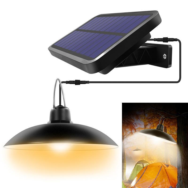 충전 정원 램프 1 개를 조명 16LED 태양 벽 램프 정원 램프 실내 정원 샹들리에 분할