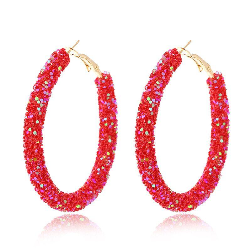 6Pairs Butterfly Hoop Drop Earrings Set Blue Pink Acrylic Tiny Small Hoop Huggie Dangle Earrings for Women Girls