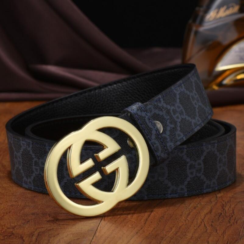 2019 vendita calda nuova cintura da uomo in pelle nera Cinture di affari in vera pelle cintura di colore puro serpente cintura fibbia modello per il regalo 66731