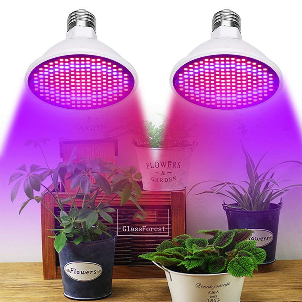 식물 성장 빛 SMD 2835 LED 식물 빛 온실 전구 AC85-265V E27 / E26 과일과 채소를위한 성장 빛