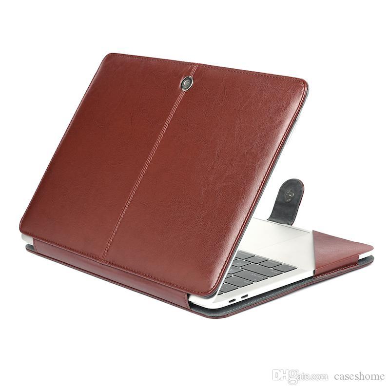 Fall für 2018 neue MacBook 11.6 12 13.3 Air Pro Retina Laptop Leder Vollschutzabdeckung Hard Case