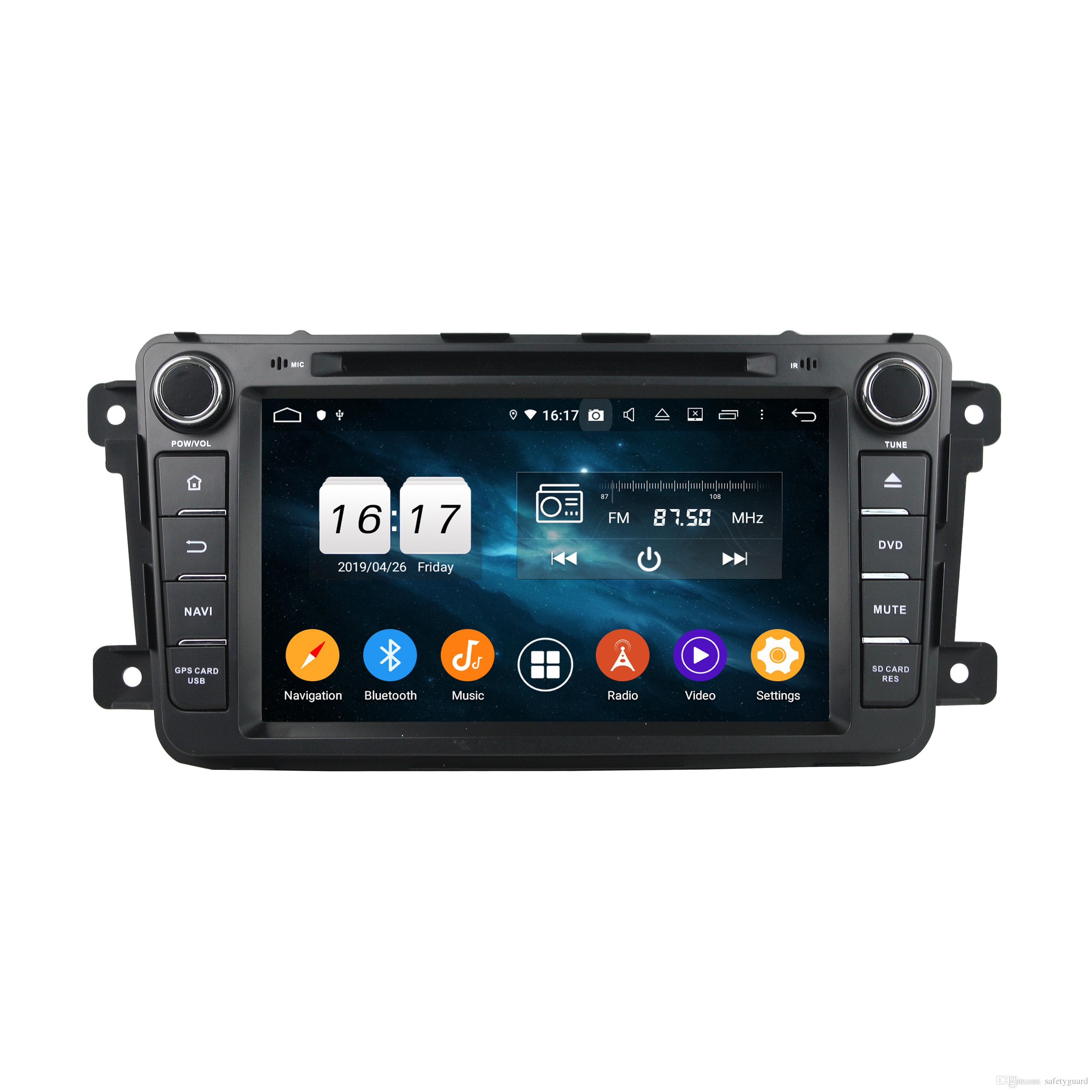 """Carplay Android 자동 DSP PX6 2 DIN 8 """"Android 10 자동차 DVD 라디오 GPS 네비게이션 Mazda CX-9 2013 2014 2015 Bluetooth 5.0 WiFi Easy Connect"""
