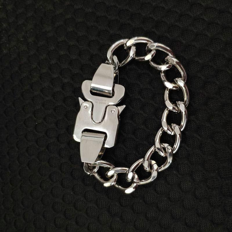 Мужской хип-хоп Punk Punk Rock Bractele Cuban Commonse Chare мужской браслет женские ювелирные изделия 21см кубинские большие ювелирные изделия