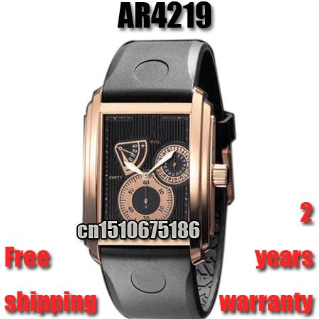 New Top Luxury Watch Brand Automatic Mechanical Hand Winding Watch Mens Gift Rubber Watches Energy Display Classic Watch Business Rose Gold