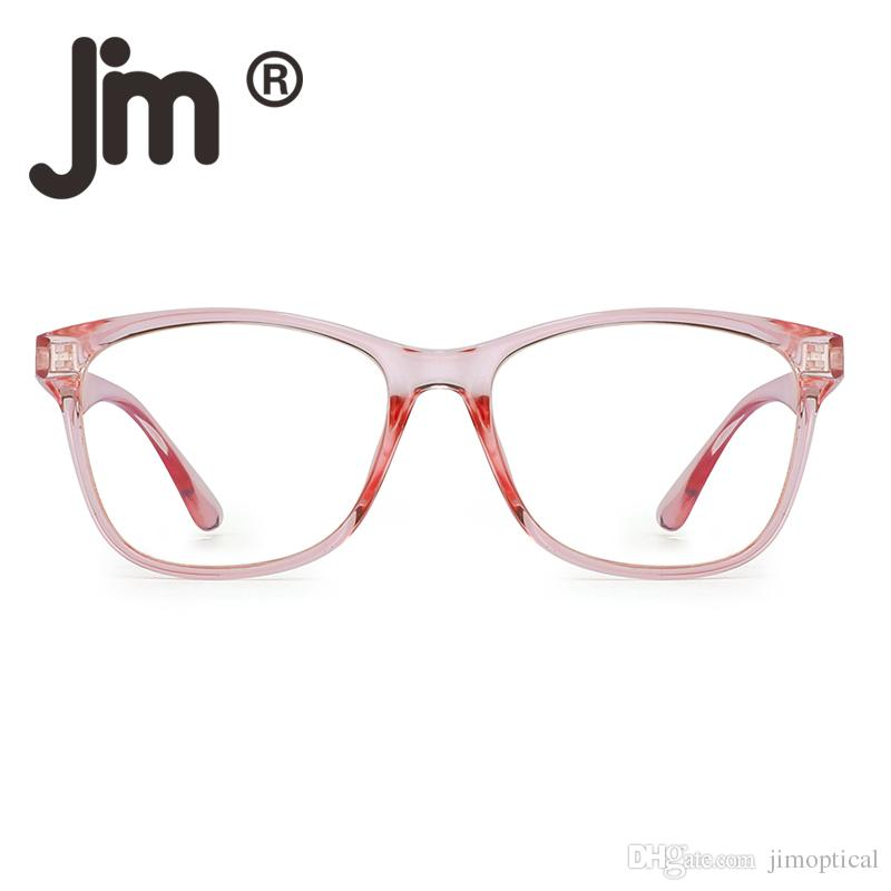JM Mujer Anti Luz Azul Bloquea Gafas de Moda Dise/ñador Computadora Anteojos Reduce Fatiga Visual Rosa