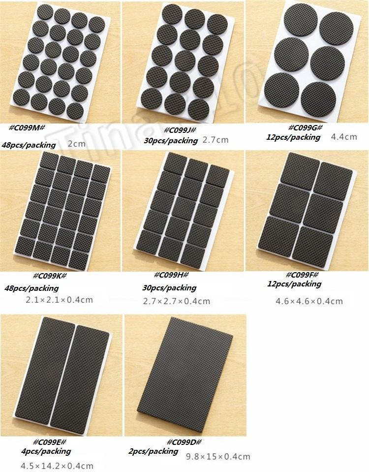 Furniture, tables and chairs cover, anti-wear protective mat, anti-wear stool, table leg mat Furniture Accessories 4921
