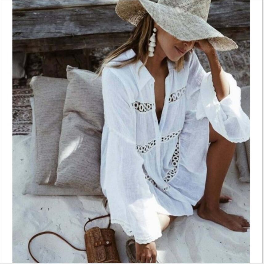 Die reizvolle Spitze-Kimono-Bluse der neuen Frauen beiläufiger Troddel-Spitze-Mantel beiläufige Wolljacke-Strand-Bikini-hohle Vertuschungs-Kleider Ineinander greifen-Badeanzug-Badeanzüge