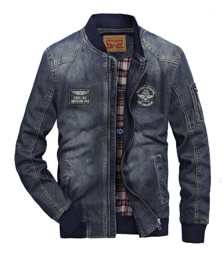 سستة جيب ملابس رجالي متعدد جيب رجل مصمم جان الستر زين عارضة الرجال جان معاطف موضة