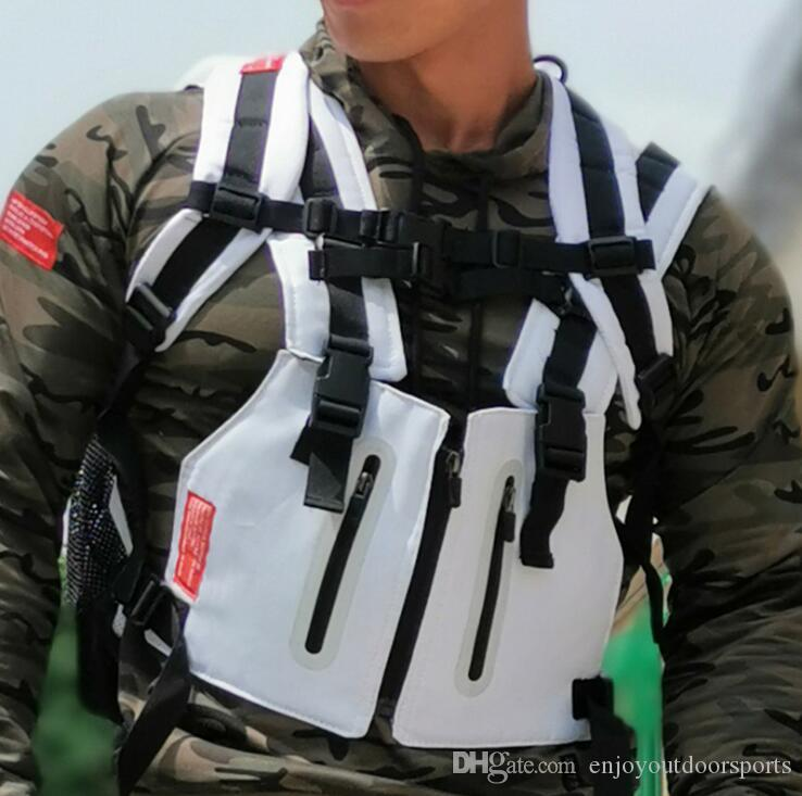 NEW Streetwear Tactical Chest Rig Waistcoat Bag Vest Functional Packs Kanye West