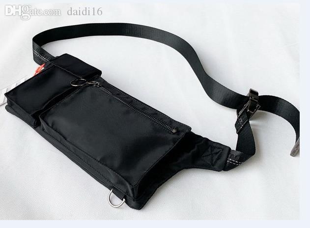 New Men Off Shoulder Bag Black Ribbon белый Мужчины Chest сумка Anti-Theft Sling пакет USB Charge порт Satchel многофункциональный Canvas Shoulder Bag