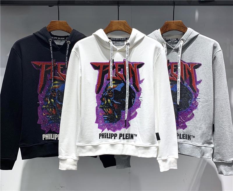 Erkekler için yeni hoodies Mor Sondaj Kafatası erkek giyim En kaliteli eğilim yüksek kalite ücretsiz kargo boyutu M-3XL