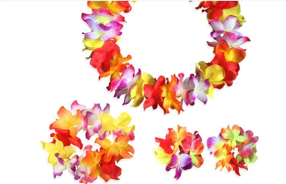 2020 la vendita calda su ordine all'ingrosso accessori di abbigliamento hawaiano ghirlanda nuovo arrivo Fes costume di ballo 8 tuta decorativa Flowers Corone