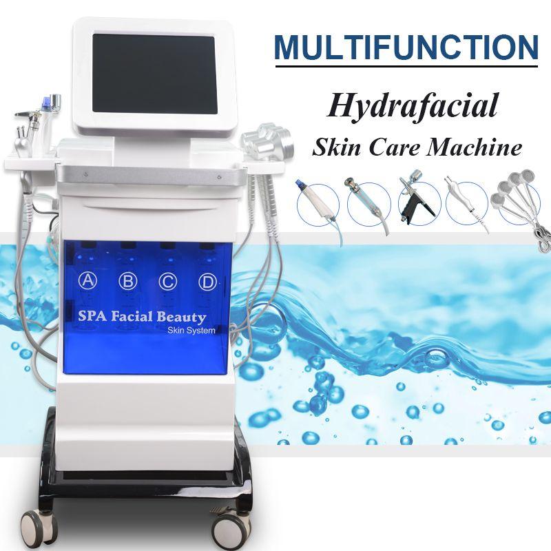 2019 microdermabrasão máquina hidra jacto equipamento casca água dermabrasão facial spa oxigénio casca PDT pele oxigenoterapia cuidado da pele de pulverização