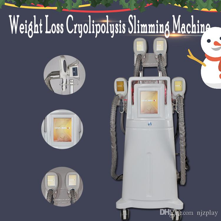 2020 new Cryolipolysis fat freezing machine super slimm beauty equipment 4 Cryo handles can work together