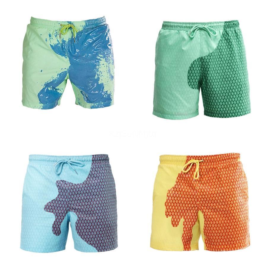 Sexy Maillots de bain pour hommes Maillots de bain Boxer Shorts de sport Costumes Planche de surf Shorts de bain homme Costumes de bain Taille XXL Summer # 946
