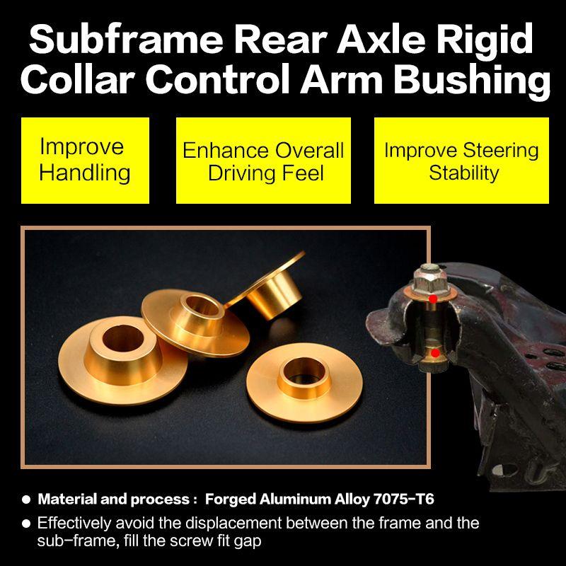 Essieu arrière rigide sous-châssis douille de bras de commande de collier pour FX35 FX37 FX50 G25 G37 EX25 EX37 M25 M35 M37 QX50 QX60 QX70 Q60