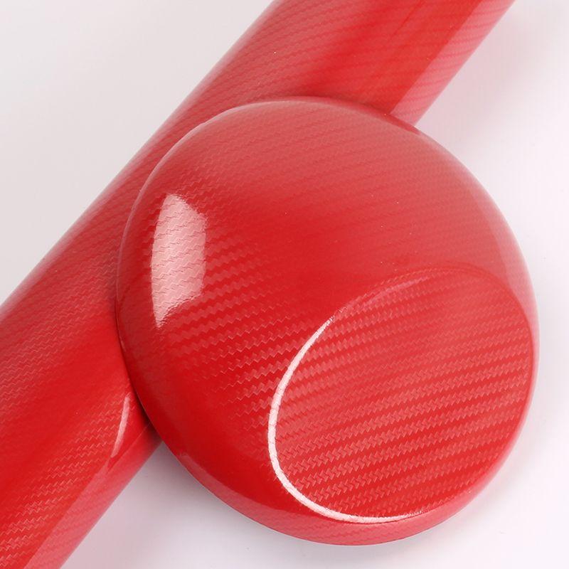 5D Carbon Fiber Red(4d primer) custom vehicle wraps custom car vinyl with Air Bubble 1.52x18m/Roll 4.98x59ft