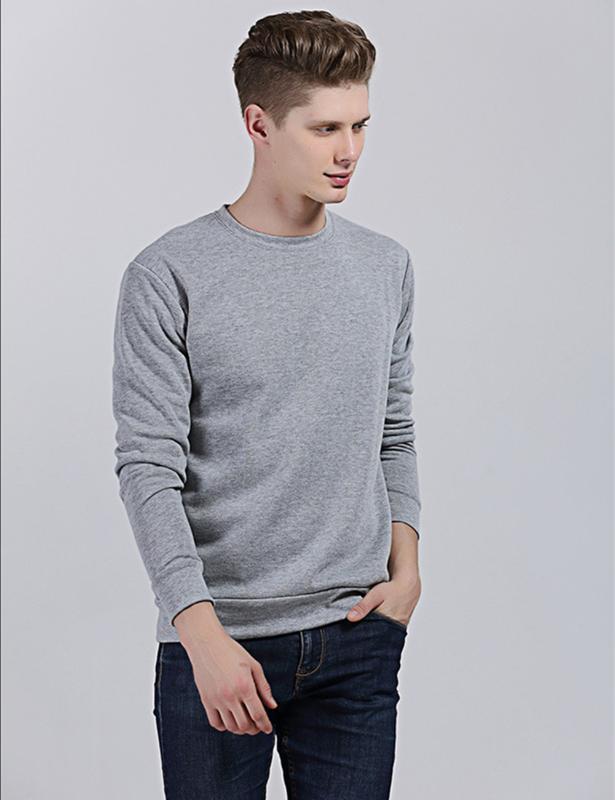 9 cores Moda Sólidos Mens Cor manga comprida O Neck Cotton Hoodie Plus Size Casual Masculino Fleece suéter Sweat Homme