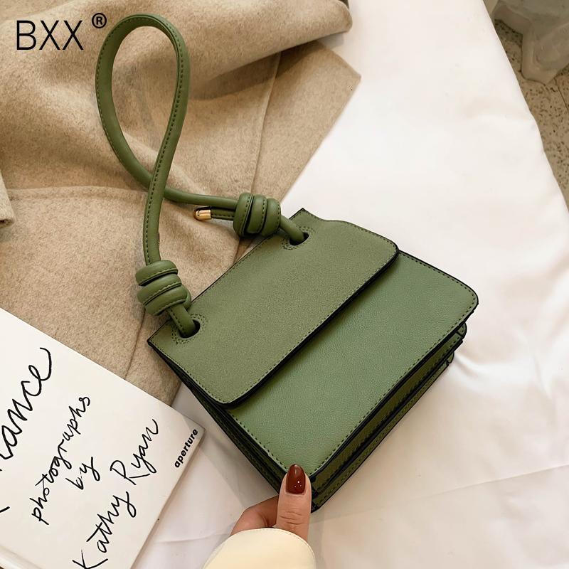 [BXX] High Capacity PU de couro bolsa de lona para mulheres 2020 Marca Lady viagem Bandoleira Sacos De Ombro Mensageiro feminina Bolsa HJ303 T200509