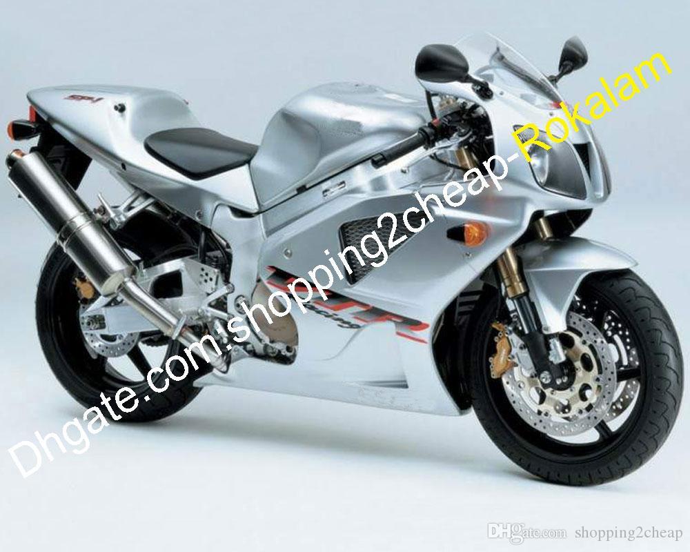 Honda VTR 1000R VTR1000 VTR1000R SP-1 SP1 SP2 RC51 실버 페어링 애프터 마켓 키트 2000 01 02 03 04 05 2006