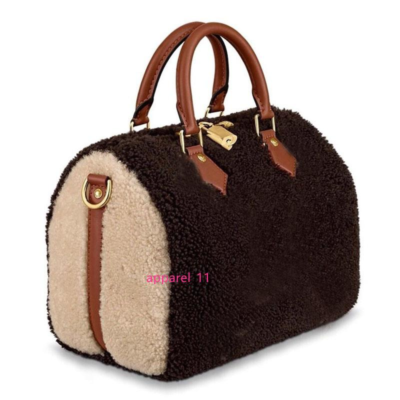 marca 2020 nuove donne della borsa della spalla cuscino borsa di lusso tote SPEEDY 30 M55422 borsa di alta qualità SPEEDY borse Designer 25 Teddy