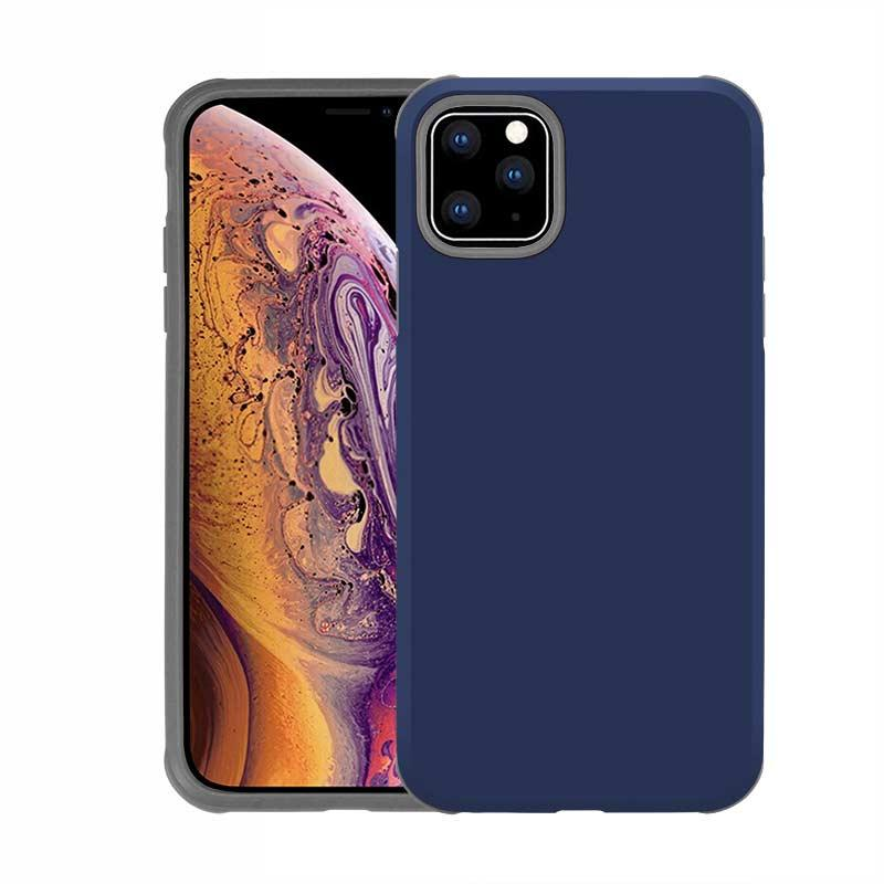 Dual Layers Hybrid Armor Slim Shockproof Commuter Defender Cases for iPhone 11 Pro Max XR XS MAX 8 7 Samsung S10 S10 Plus